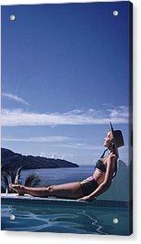 Between Sea And Sky Acrylic Print