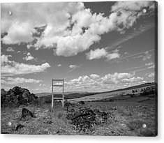 Beyond Here The Chair Project Acrylic Print