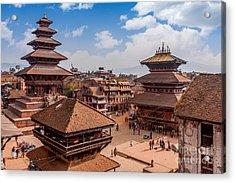 Bhaktapur Is Unesco World Heritage Site Acrylic Print