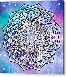 Acrylic Print featuring the digital art Big Bang by Bee-Bee Deigner