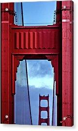 Big Red Acrylic Print by Az Jackson