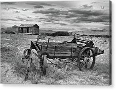 Bighorn Basin History Acrylic Print by Leland D Howard