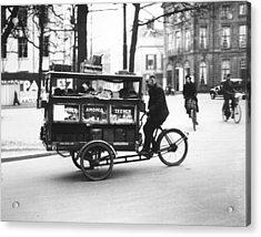 Bike Shop Acrylic Print