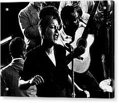 Billie Holidayjames P. Johnson Acrylic Print