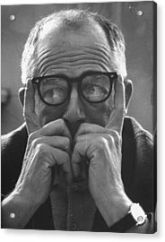 Billy Wilder Acrylic Print by Gjon Mili