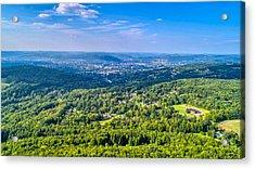 Binghamton Aerial View Acrylic Print