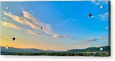 Binghamton Spiedie Festival Air Ballon Launch Acrylic Print