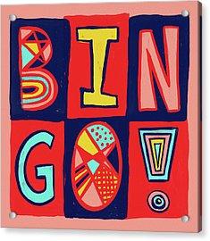 Bingo Acrylic Print
