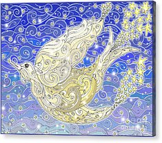 Bird Generating Stars Acrylic Print