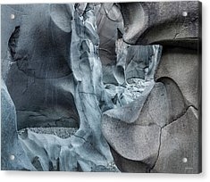 Black Magic Canyon 10b Acrylic Print by Leland D Howard
