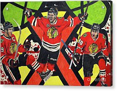 Blackhawks Authentic Fan Limited Edition Piece Acrylic Print
