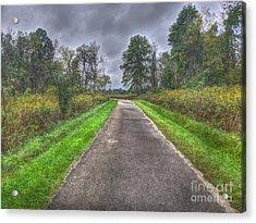 Blacklick Woods Pathway Acrylic Print