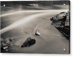 Blackstone River II Albion Toned Acrylic Print by David Gordon