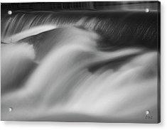 Blackstone River Xxxii Bw Acrylic Print by David Gordon