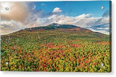 Blanketed In Color Acrylic Print
