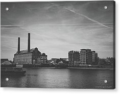 Bleak Industry Acrylic Print