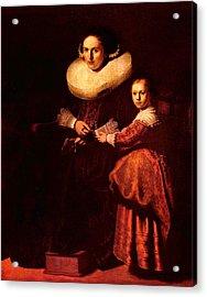 Blend I Rembrandt Acrylic Print