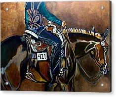 Bling My Ride Acrylic Print
