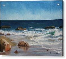 Block Island Surf Acrylic Print