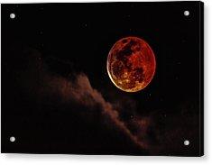 Blood Moon Rising Acrylic Print
