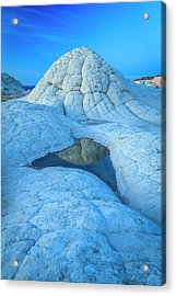 Blue Hour At White Pocket Acrylic Print