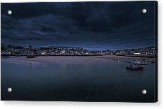 Blue Hour - St Ives Cornwall Acrylic Print