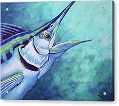 Blue Marlin Acrylic Print