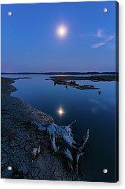 Blue Moonlight Acrylic Print
