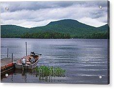 Blue Mountain Lake Acrylic Print
