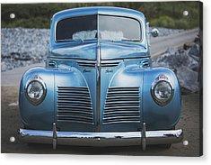 Blue Plymouth Acrylic Print