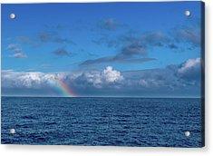 Blue Rainbow Horizon Acrylic Print