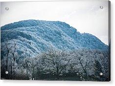 Blue Ridge Mountain Top Acrylic Print