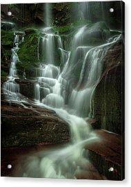 Blue Ridge Mountains Cascade Acrylic Print