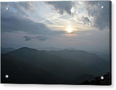 Blue Ridge Parkway Sunset Acrylic Print