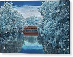 Blue Sach's Acrylic Print