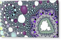 Blue Spiral Lake Fine Art Acrylic Print