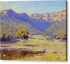 Bluffs Of The Capertee Valley Acrylic Print