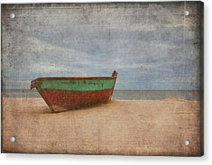 Acrylic Print featuring the digital art Boat by Christopher Meade