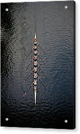 Boat Race Acrylic Print by Fuse