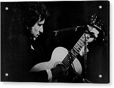 Bob Dylan At Madision Square Garden Acrylic Print