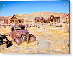 Bodie Is A Ghost Town In The Bodie Acrylic Print