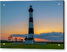 Bodie Island Lighthouse, Hatteras, Outer Bank Acrylic Print