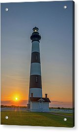 Acrylic Print featuring the photograph Bodie Island, Sunrise, Obx by Cindy Lark Hartman