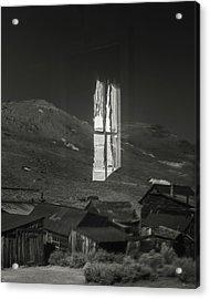 Bodie Reflections Acrylic Print by Joseph Smith