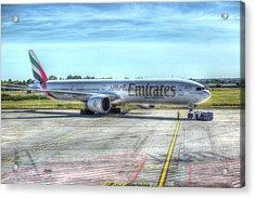 Boeing 777-300er Emirates  Acrylic Print