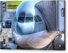 Boeing 777-300er Qatari Airlines Acrylic Print