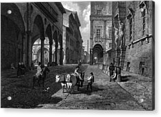 Bologna Main Street Acrylic Print by Hulton Archive