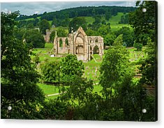 Bolton Abbey, Yorkshire Dales Acrylic Print by David Ross