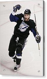 Boston Bruins V Tampa Bay Lightning - Acrylic Print by Justin K. Aller