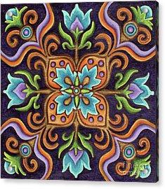 Botanical Mandala 12 Acrylic Print